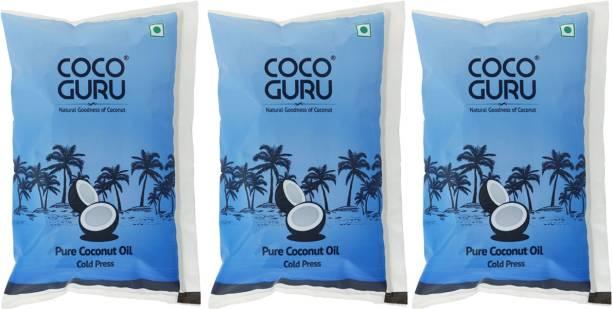 Cocoguru Cold Pressed Coconut Oil Pouch