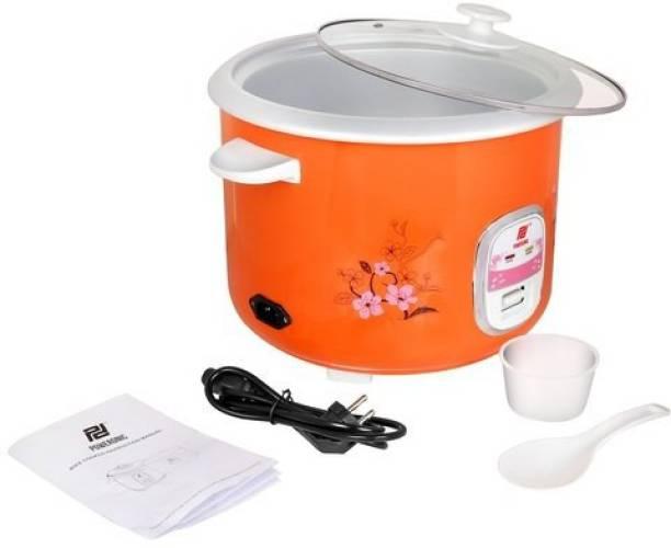 Poweronic (LIANERMETAL BODY 1.8L RICE (ELECTRIC) COOKER WITH 2 DRUM Electric Rice Cooker with Steaming Feature