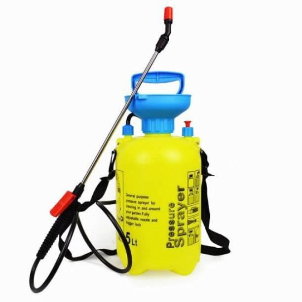 Mai 5L SPRAY MACHINE FOR HOME HAND MANUAL SANITIZER SPRAY MACHINE FOR HOME AND OFFICE DISINFECTANT SPRAY VIRUS PROTECTION SPRAYER AGRICULTURE PUMP GARDEN SPRAYER MACHINE KNAPSACK BACKPACK High Quality Backpack Pressure Sprayer NON-BATTERY Sprayer PUMP Bottle 5 L Backpack Sprayer