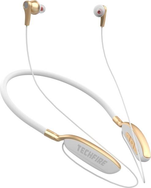 TECHFIRE FIRE 300 Platinum Series Neckband - Low Price Bluetooth Neckband Bluetooth Headset