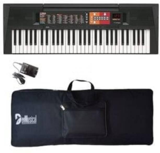 YAMAHA PSR-F51 Portable Keyboard with Adaptor and Bag Combo Package PSR-F51 Digital Portable Keyboard