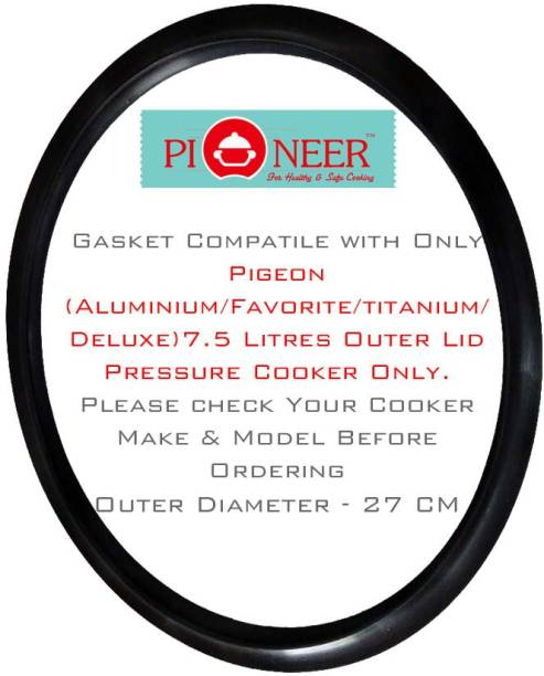Pioneer Compatible with 7.5 Litre Outer Lid Pressure Cooker(Favourite/Delux/Special) 240 mm Pressure Cooker Gasket