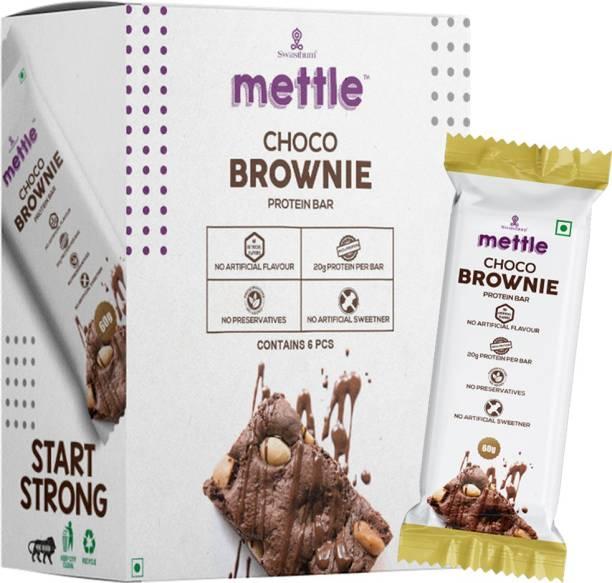 mettle Choco Brownie Protein Bar 60g Energy Bars