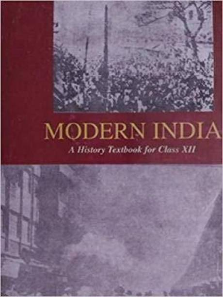 Old NCERT History Modern India By Bipin Chandra In English (Paperback, Rainbow Publication)