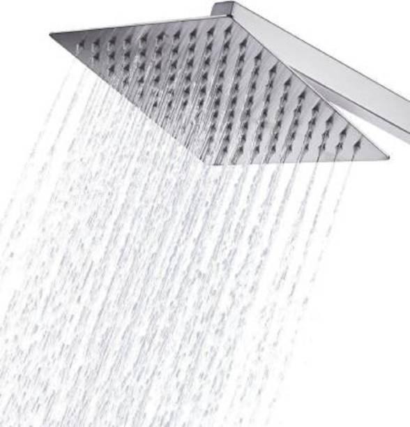 Hercai 6x6 (6 Inch) UltraSlim Heavy SS Rain Shower with 15inch Arm Shower Head
