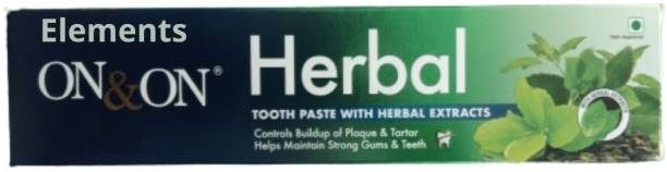 Elements Herbal Tooth Paste With Extracts Toothpaste