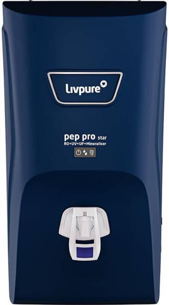 LIVPURE Pep Pro Star 7 L RO + UV + UF + Minerals Water Purifier