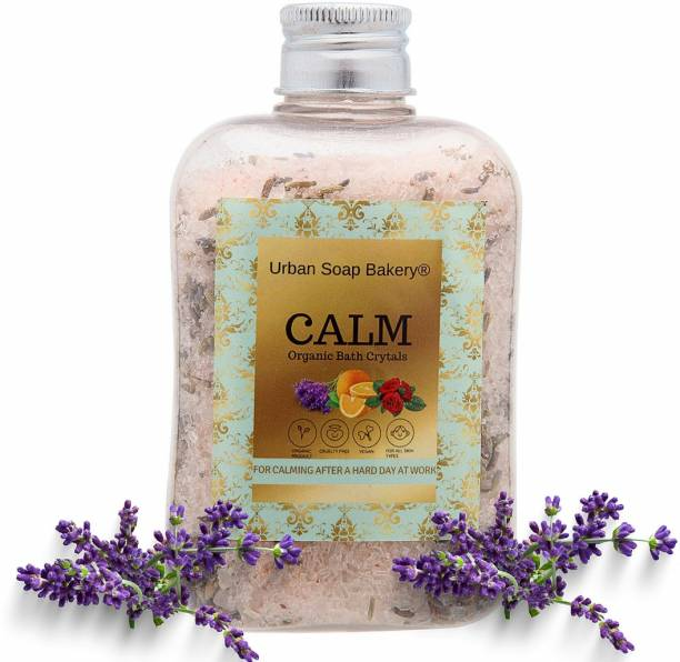 urban soap bakery Bath Salt For Relaxation Muscle Relief, Relives Aches & Pain, Plant Growth (Lavender Bath Salt)