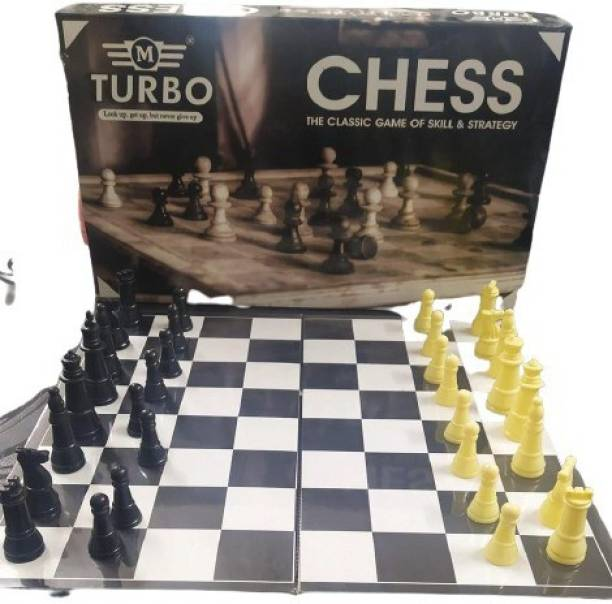 TURBO CHESS BOARD WITH COINS 23 cm Chess Board