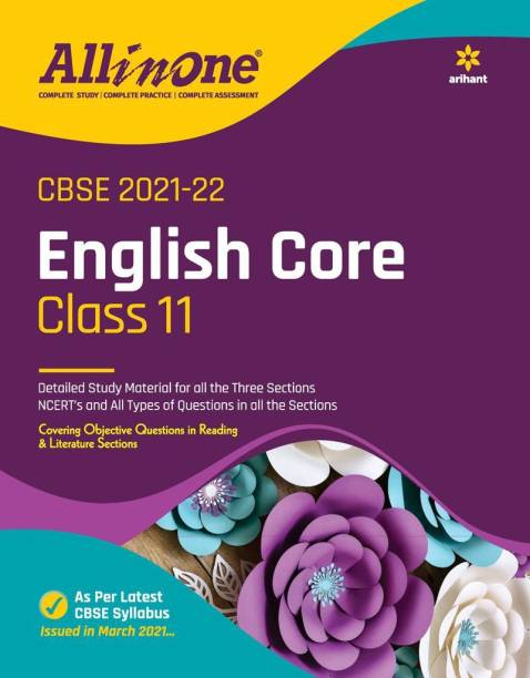 CBSE All In One English Class 11 for 2022 Exam (Updated edition for Term 1 and 2)