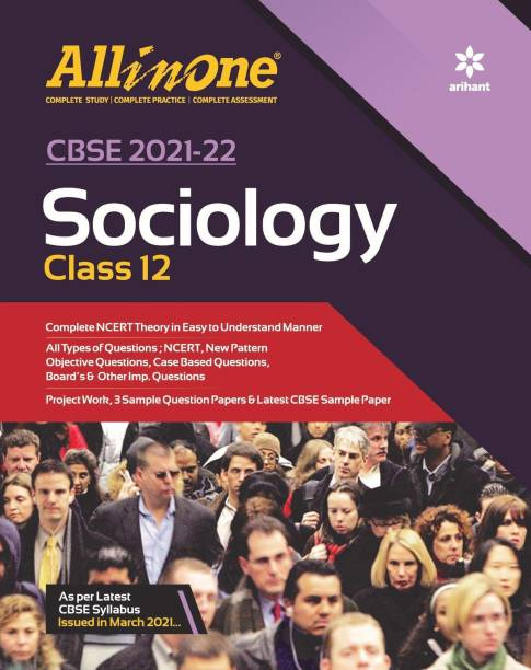 CBSE All In One Sociology Class 12 for 2022 Exam (Updated edition for Term 1 and 2)