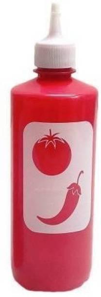 sbaprime Plastic Sauce Bottle Combo Empty Ketchup 500 ml Bottle