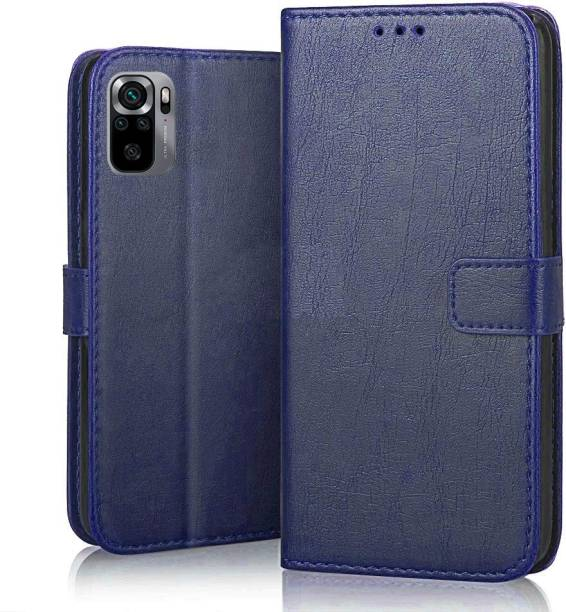 GLOVER Flip Cover for REDMI NOTE 10S