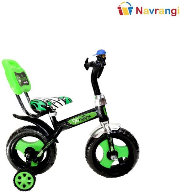 NAVRANGI 12 Inch Kids Trainer Bicycle- Plug and Play Bicycle for Kids of 2 to 5 Years Age 12 T Cycle Bearing