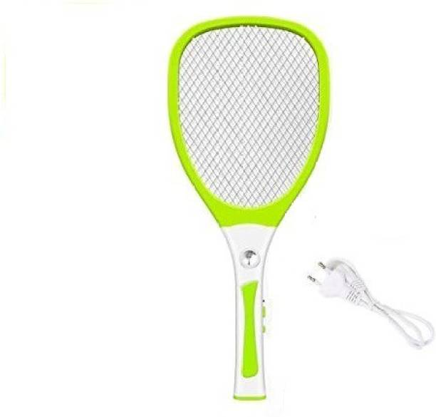 DPM 18W Heavy Duty Mosquito Bat/ Mosquito Racket With Torch & Charging Wire RECHARGEABLEI MOSQUITO SWATTER NET HIGT CAPACITY BATTERY 500mAH Electric Insect Killer