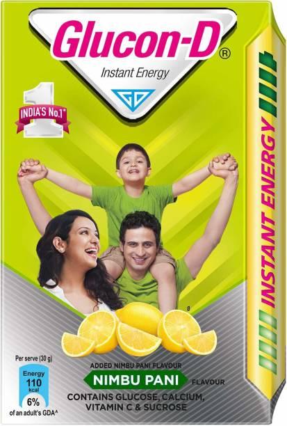 GLUCON-D G-D Nimbu Pani Refill 450 gram Energy Drink
