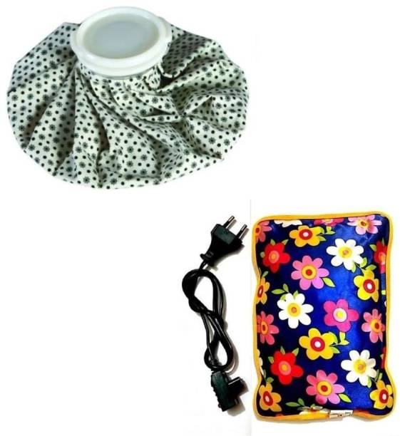 True Shop Cool ice Chilling Therapy and HOT WATER BAG COMBO (multicolored) Hot water bag for pain relief Pack