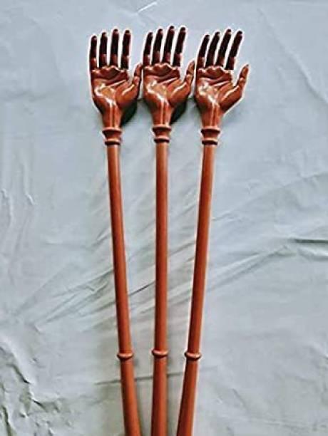Aanyaretail pack of 3 back scratcher for itching massager stick,khujli stick 14 inch back scratcher for itching massager stick,khujli stick Massager