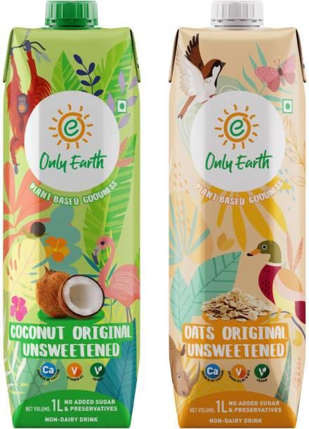 Only Earth Oats & Coconut Milk Unsweetened