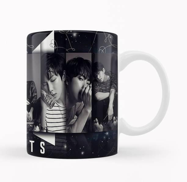 iMPACTGift BTS ARMY - Birthday Anniversary Everyday Gift | BTS | Bangtan Boys #412 Ceramic Coffee Mug