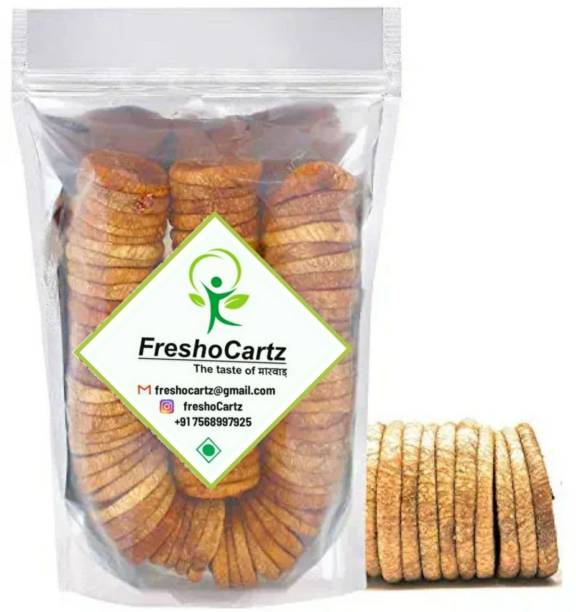 FreshoCartz Dry Figs   Afghani Anjeer   Medium Size Anjir   Dry Fruits (Premium Quality + Free Delivery) Figs