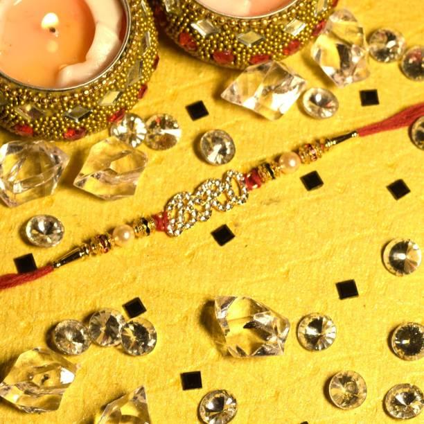 GW Creations Chawal Roli Pack, Rakhi  Set