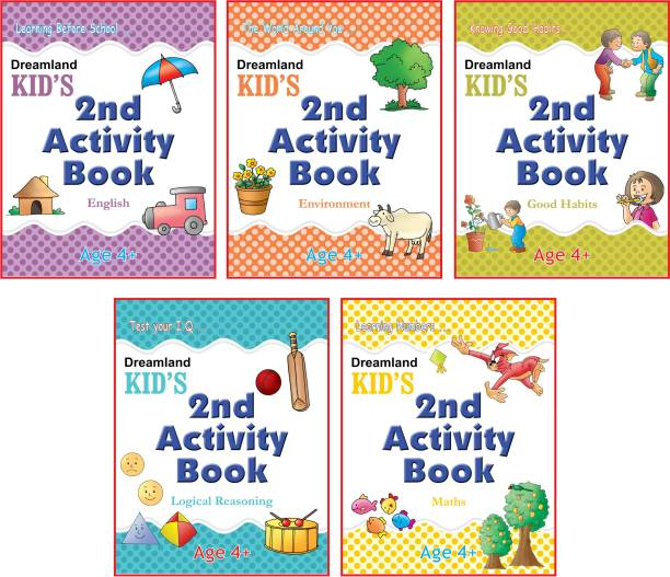 Kid's Activity Age 4+ - Pack