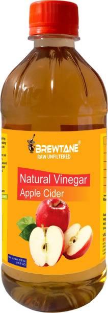 BREWTANE Apple Cider Vinegar Filtered 500 ML Vinegar