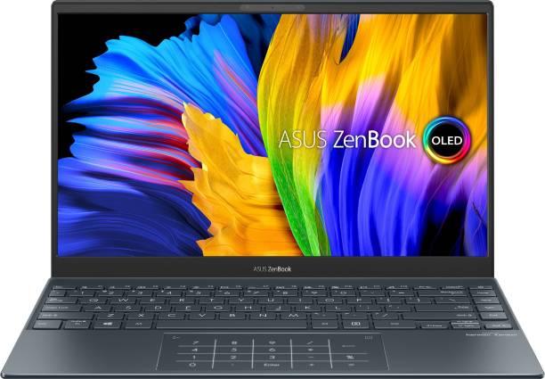 ASUS Zenbook 13 OLED Ryzen 7 Octa Core AMD Ryzen™ 7 5700U 5th Gen - (16 GB/1 TB SSD/Windows 10 Home) UM325UA-KG701TS Thin and Light Laptop