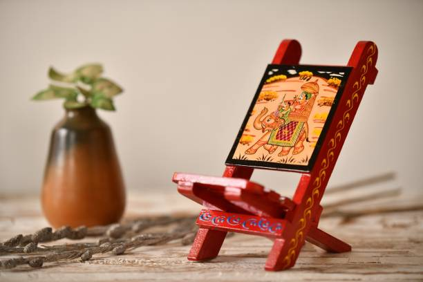 Fashion Bizz 1 Compartments Wood Mobile Stand
