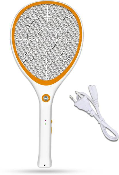Pick Ur Needs High Quality Mosquito Racket/Bat with Torch with Wire Charging Electric Insect Killer