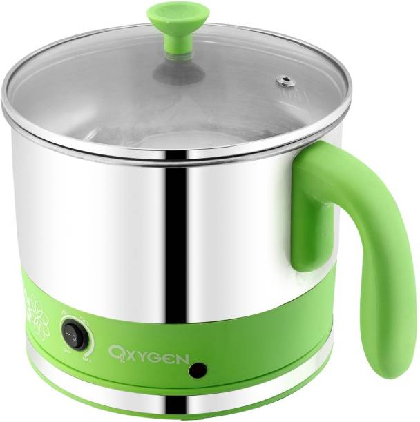 DEZEEN Automatic Stainless Steel 1 Litre Electric Kettle Heavy Body Extra Large Cattle With Handle Multi Cooker Electric Kettle