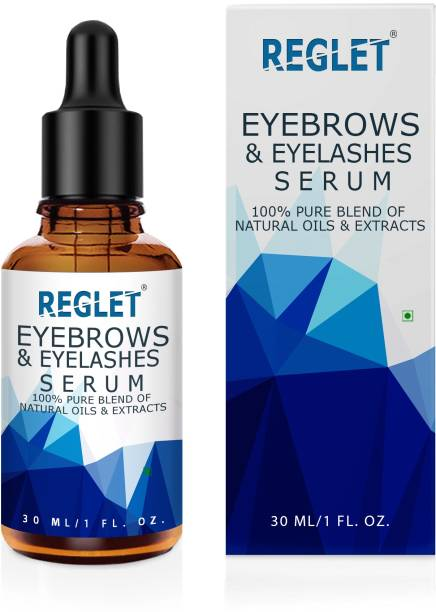 REGLET Natural Eyebrow Growth Oil with Pure Essential Oils eyebrow Growth Hair Oil pure natural 30 ml