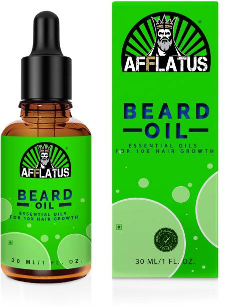 Afflatus Advanced and Orgaic Beard Growth Oil for strong and healthy beard growth organic Hair Oil