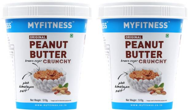 MYFITNESS 510g Crunchy Pack of Two 1020 g