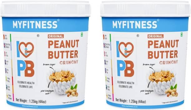 My Fitness Original Peanut Butter Crunchy 2500 g