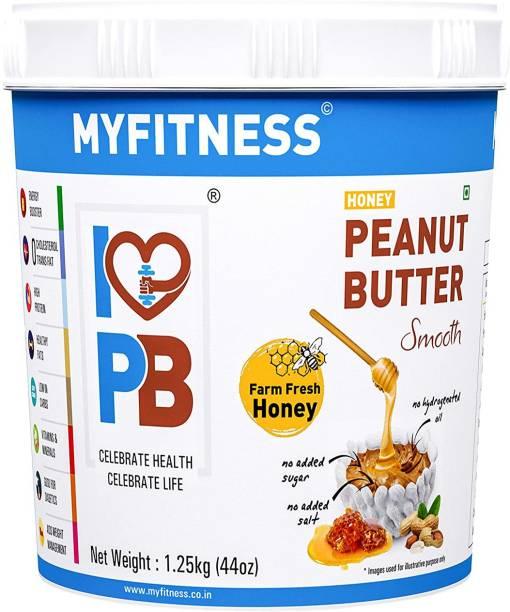 My Fitness Honey Peanut Butter Smooth 1250 g
