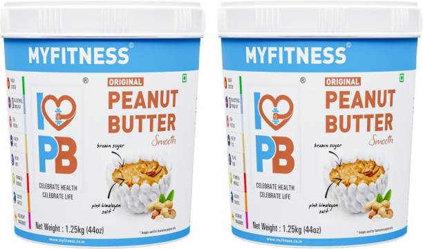 My Fitness Original Peanut Butter Smooth 2500 g