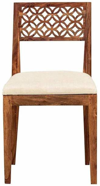 CHITRA FURNITURE Wooden Set Of 2 Dining Chair For Kitchen & Dinning Room Solid Wood Living Room Chair