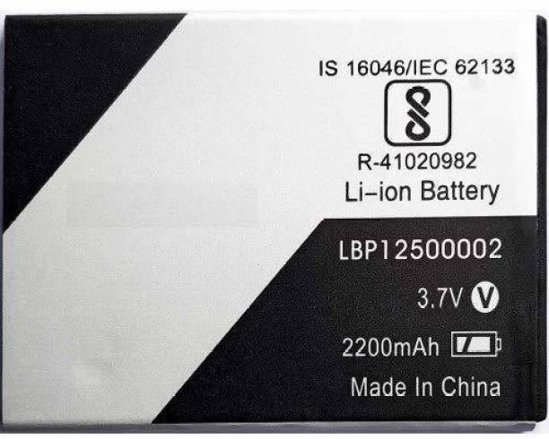 GIFFEN Mobile Battery For  Lava Z60 / Z80 / Z60s / X41+ / P7+ ( LBP12500002 )