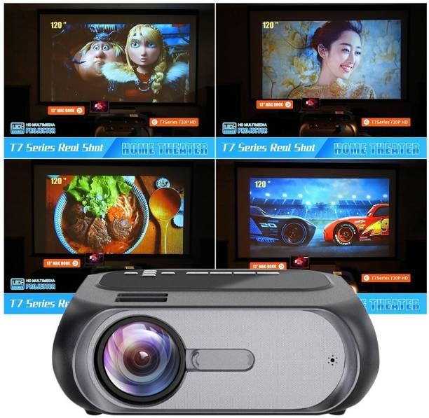 IBS Smart Cinema Pocket Mini WIFI Home Theater Digital Projector Phone Mirroring T7 7000 Lumens Portable Projector