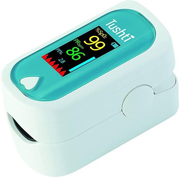 Tushti Pulse Oximeter Fingertip - Blood Oxygen Meter SpO2 & Pulse Monitor - FDA, CE - Oxymeter Pulse Oximeter