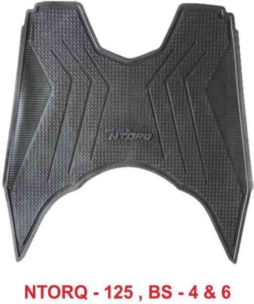 Gadget Deals Full Fit High Quality Ntorq Foot mat TVS Ntorq 125 Two Wheeler Mat
