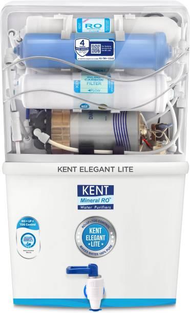 KENT ELEGANT LITE 8 L RO + UF + TDS Water Purifier