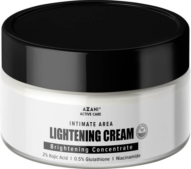 Azani Active Care Intimate Area Lightening Cream| Intimate Whitening Cream with Brightening Concentrate, Shea Butter and Silica for Anti-wrinkle Intimate Cream