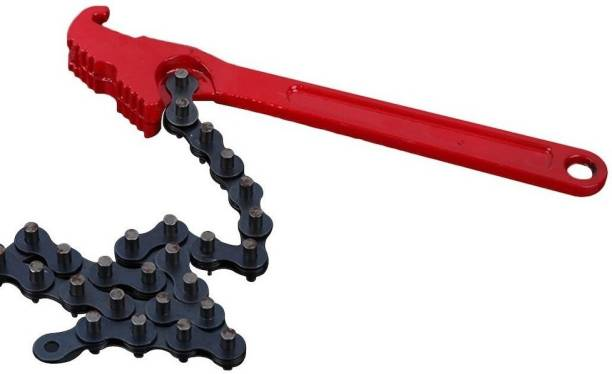Qualigen 9'' Oil Filter Chain Wrench Auto Tool Engine Double Sided Speciality