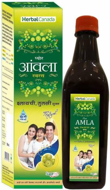 Herbal Canada Amla ras (500ML)