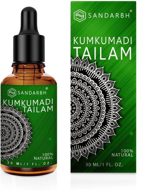 Sandarbh Ayurvedic Natural Kumkumadi Facial Oil for Anti-Aging Glowing, Shine and Brightness