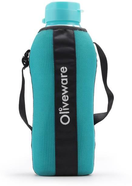 Oliveware Jumbo Bottle Washable Carry Sleeve | Shoulder Strap | Stretchable Sleeve | 2 Litre 2000 ml Bottle