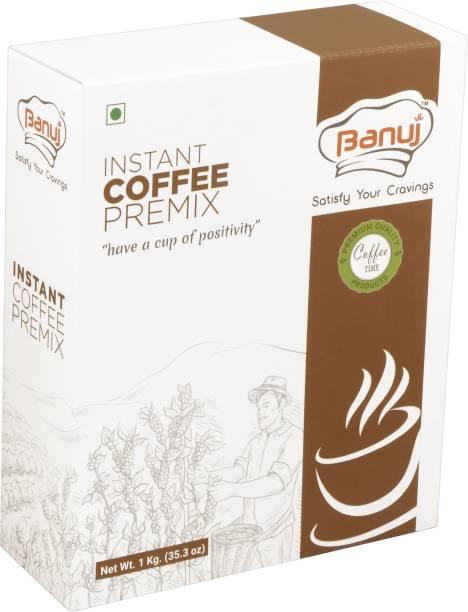 BANUJ Instant Coffee Premix 1 kg. Instant Coffee